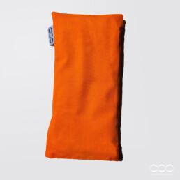 OOO-Ögonkudde Senapsfrö & Lavendel - Orange